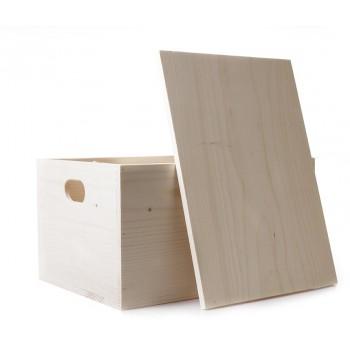 Dřevěná krabice (doporučeno 6-15 položek)