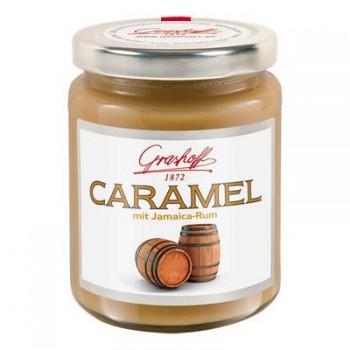 Karamelový krém s 73% jamajským rumem 250g