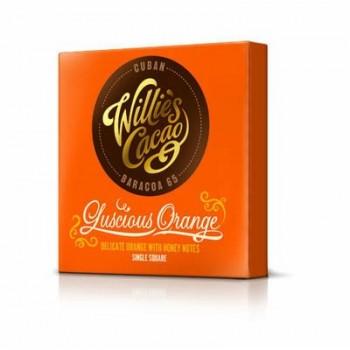 Čokoláda Willes Cuban hořská s pomerančem 50g