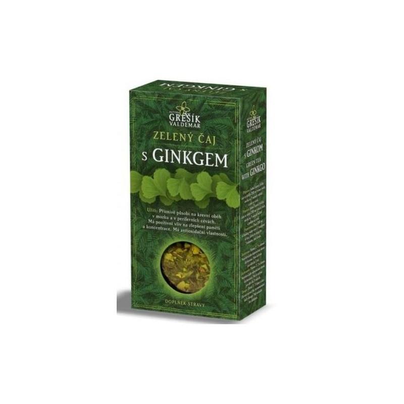 Zelený čaj s Gingkem