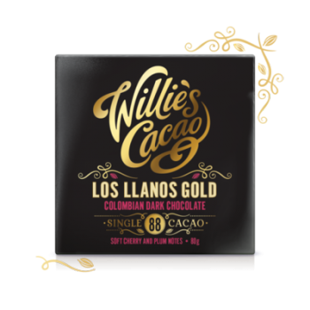 Čokoláda Willies Gold 88% 50g