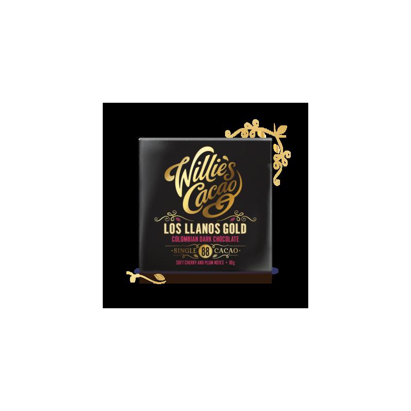 Čokoláda Willies Gold 88% 50g