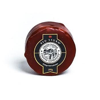 Sýr leicesterský red storm extra zralý 200g