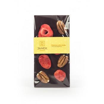Janek čokoláda pekan ořech, jahody 95g