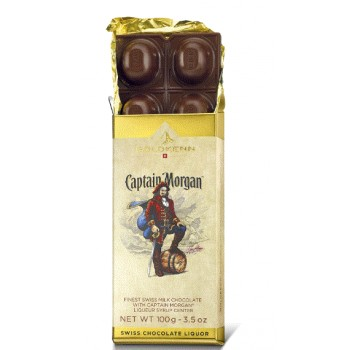 Čokoláda Captain Morgan 100g