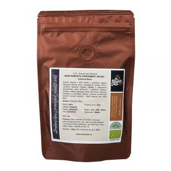 Indie robusta parchment AB Bio 100g