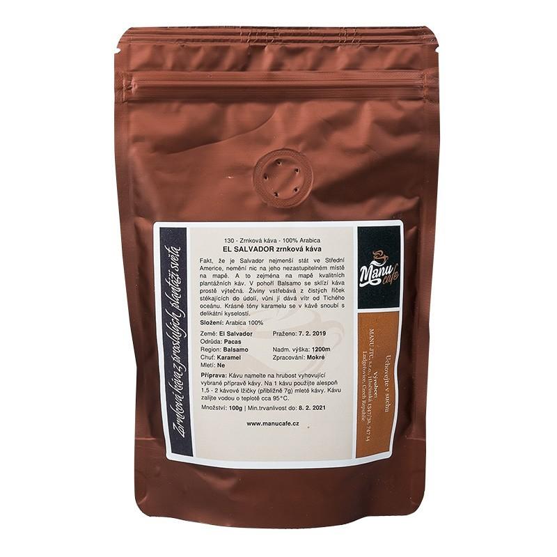 El Salvador zrnková káva 100g