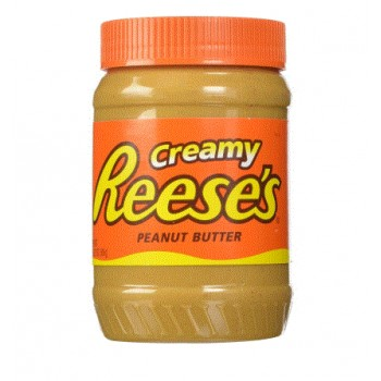 Reeses creamy peanut butter 510g
