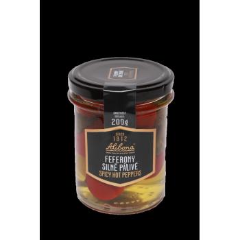 Feferonová pasta s chilli 190g