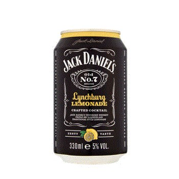 Jack Daniels Lynchburg Lemonade 0,33l