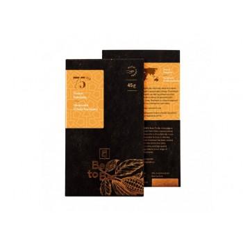 75% hořká čokoláda  Venezuela Criollo Porcelana 45g