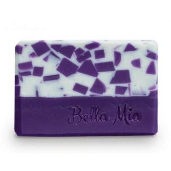 Levandulové kostky mýdlo