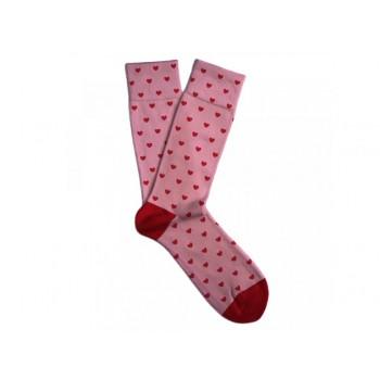 Dámské ponožky srdíčka vel. 36-40