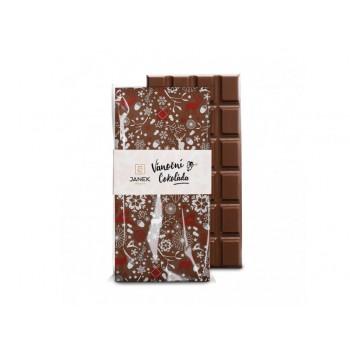 Vánoční mléčná čokoláda 85g