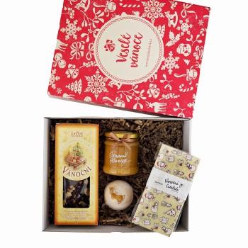 Vánoční krabička s čajem