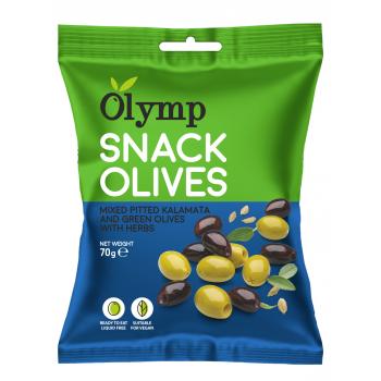 Olymp olivy snack 70g