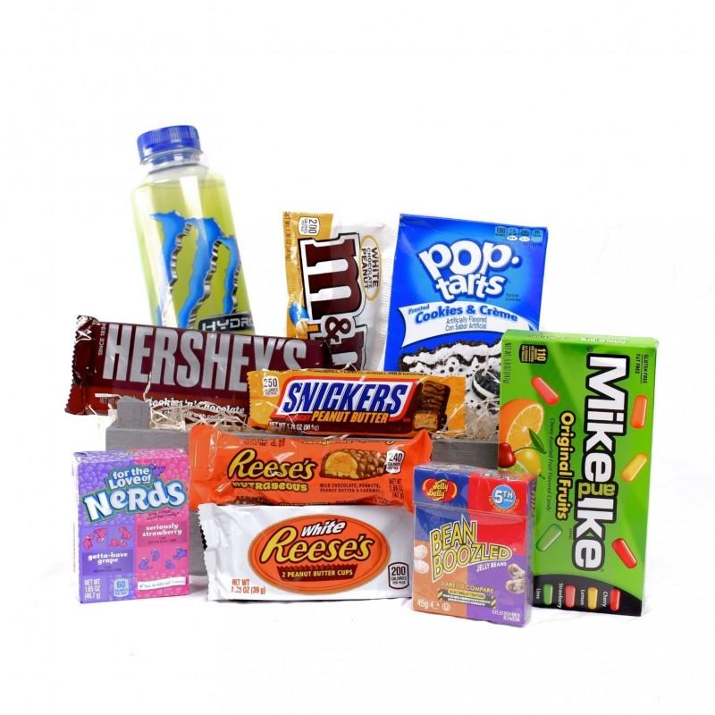 Dárkový koš sladkostí Amerika