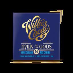 Willies čokoláda mléčná Rio Caribe 40g