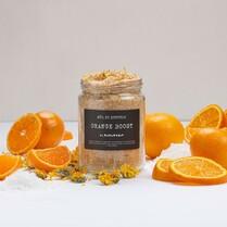 Skvělá sůl do koupele od české značky Almara soap je již online a těší se až si ji přidáte například do dárkové krabičky.